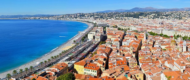 """""""Nizza-Côte d'Azur"""" by Tobi 87 - Own work. Licensed under Creative Commons Attribution-Share Alike 3.0-2.5-2.0-1.0"""