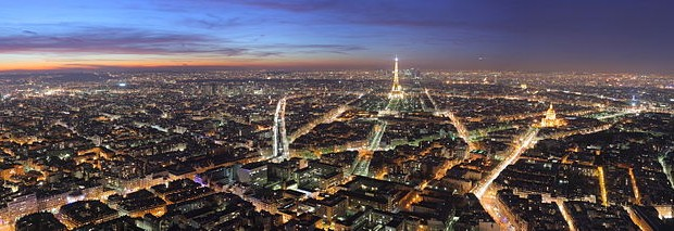 """Paris Night"" by Benh LIEU SONG - Own work. Licensed under Creative Commons Attribution-Share Alike 3.0-2.5-2.0-1.0"
