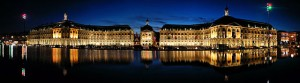 """Place de la Bourse Bordeaux de nuit"" by Fabien1309 - Own work. Licensed under Creative Commons Attribution-Share Alike 2.0-fr via Wikimedia Commons - http://commons.wikimedia.org/wiki/File:Place_de_la_Bourse_Bordeaux_de_nuit.jpg#mediaviewer/File:Place_de_la_Bourse_Bordeaux_de_nuit.jpg"